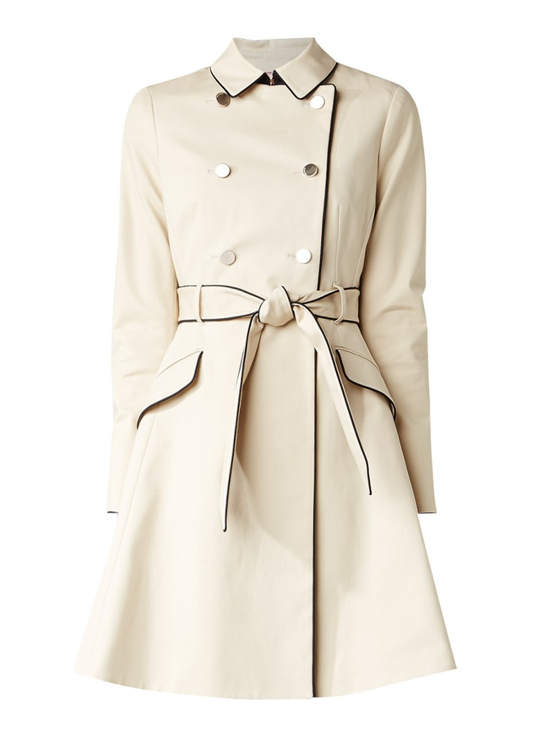362e024c2 Double Ted Trench Coat Taupe Jackets Coats Baker Au