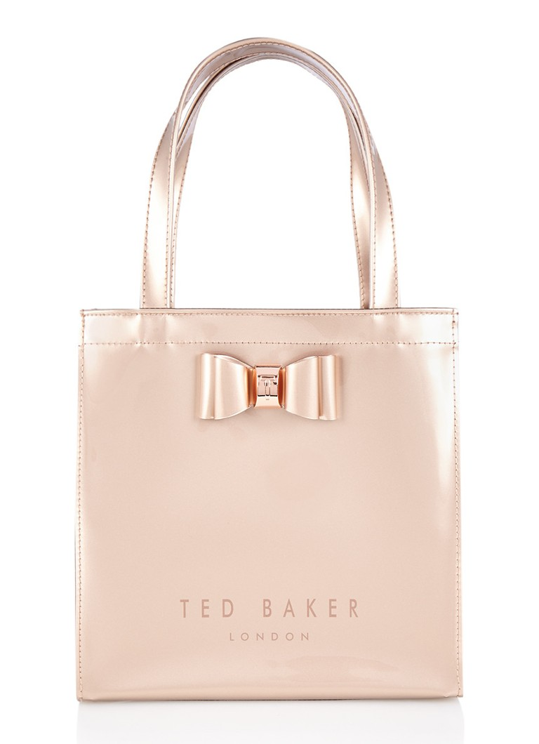 Ted baker jenacon shopper met strikdetail de bijenkorf for How to be a professional shopper