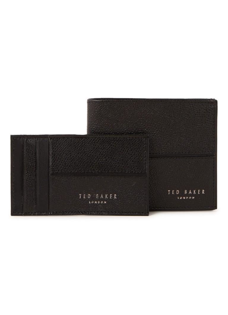 1c9342f7281 Ted Baker Rozes giftset met portemonnee en creditcardetui van leer • de  Bijenkorf