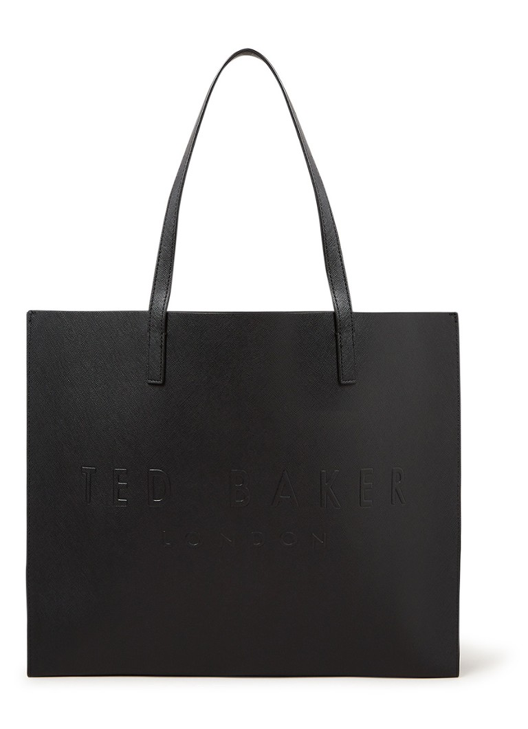 Ted Baker - Sukicon shopper met logo - Zwart