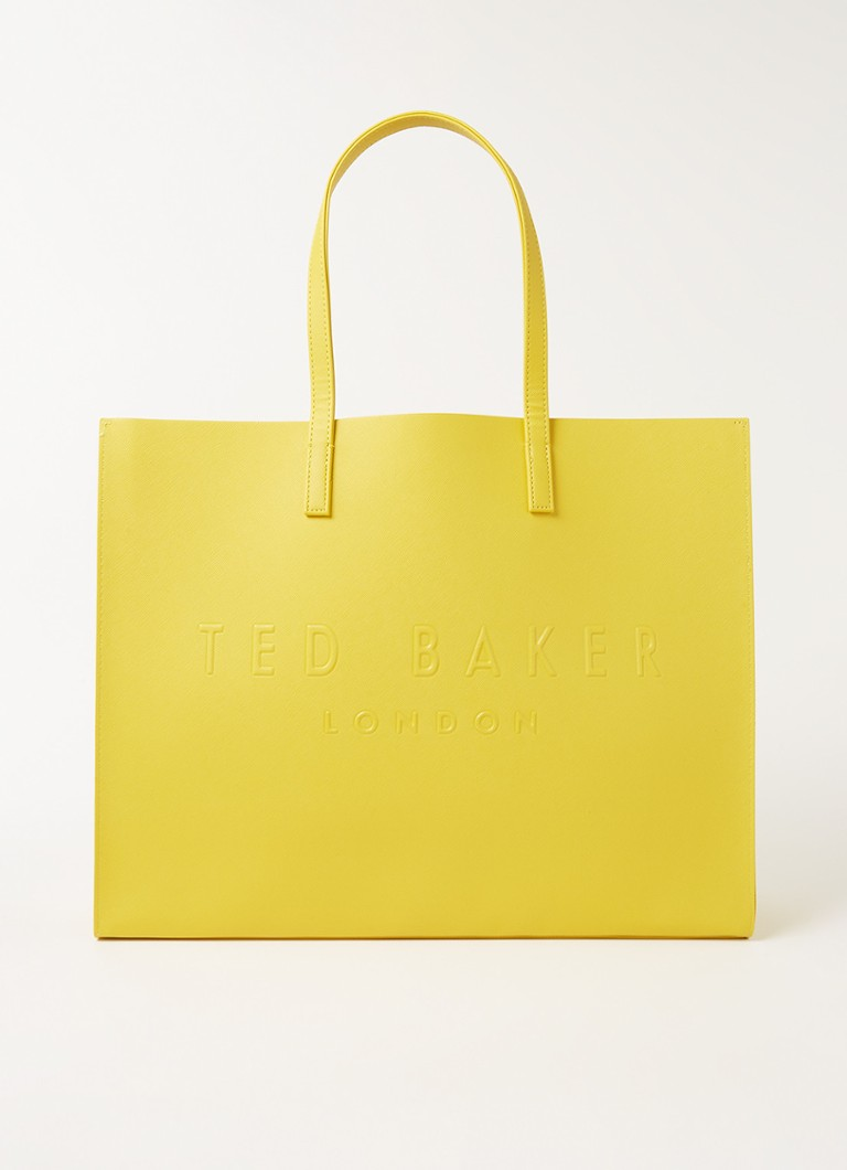 Ted Baker - Sukicon shopper met logo - Geel