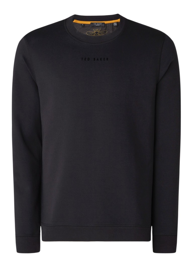 Ted Baker - Sweater met logoprint - Zwart