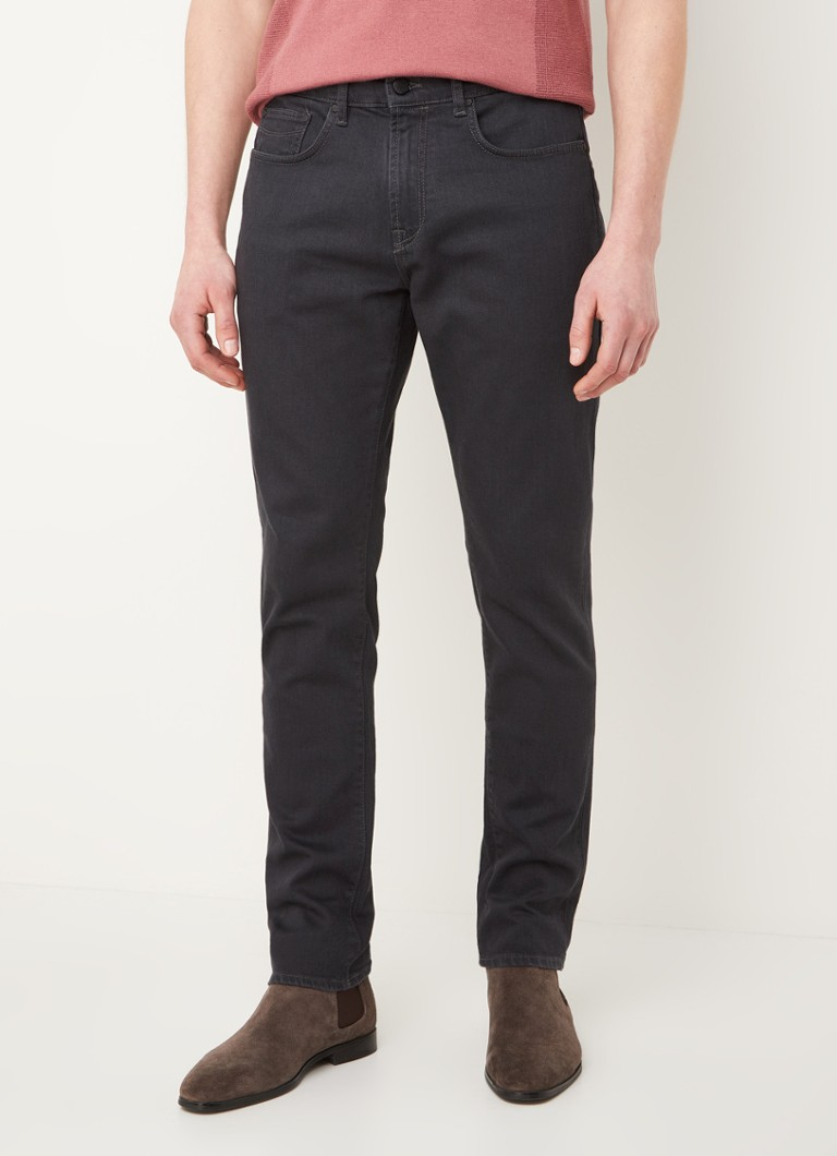 Ted Baker - Tondi tapered fit jeans met stretch - Antraciet