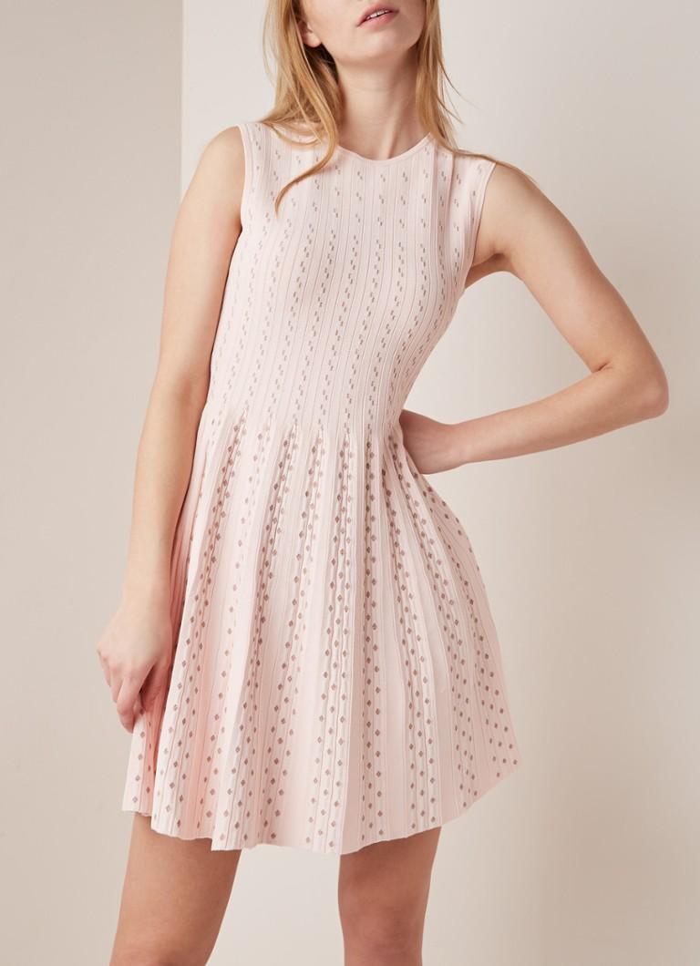 c4b8d64f0915fd Ted Baker Vellia fijngebreide A-lijn jurk met lurex • de Bijenkorf