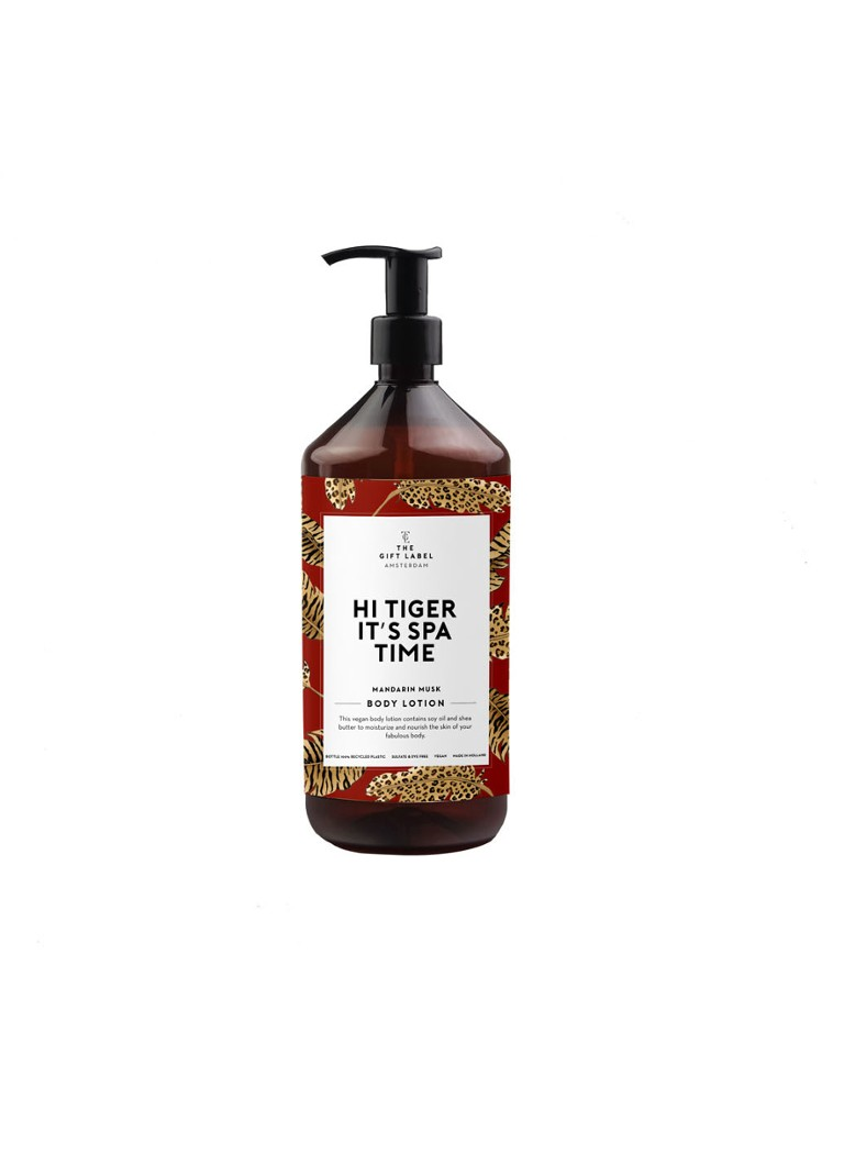 The Gift Label - Hi Tiger It's Spa Time - Mandarin musk Body Lotion - bodylotion - null