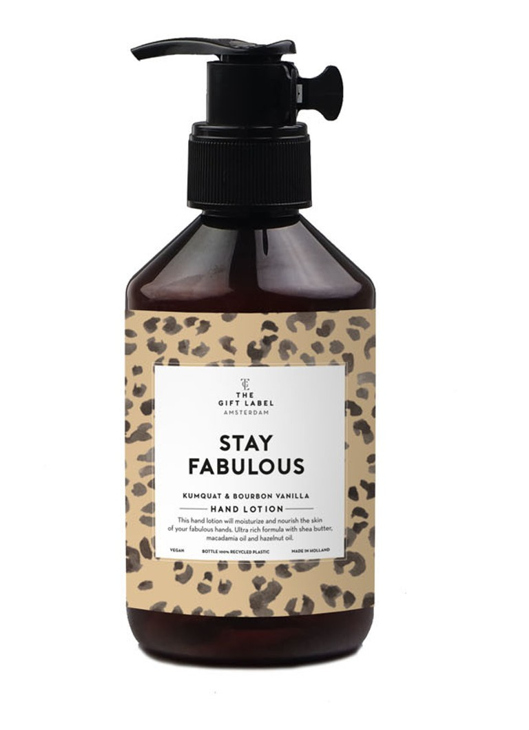 The Gift Label - Stay Fabulous Hand Lotion - handlotion - null