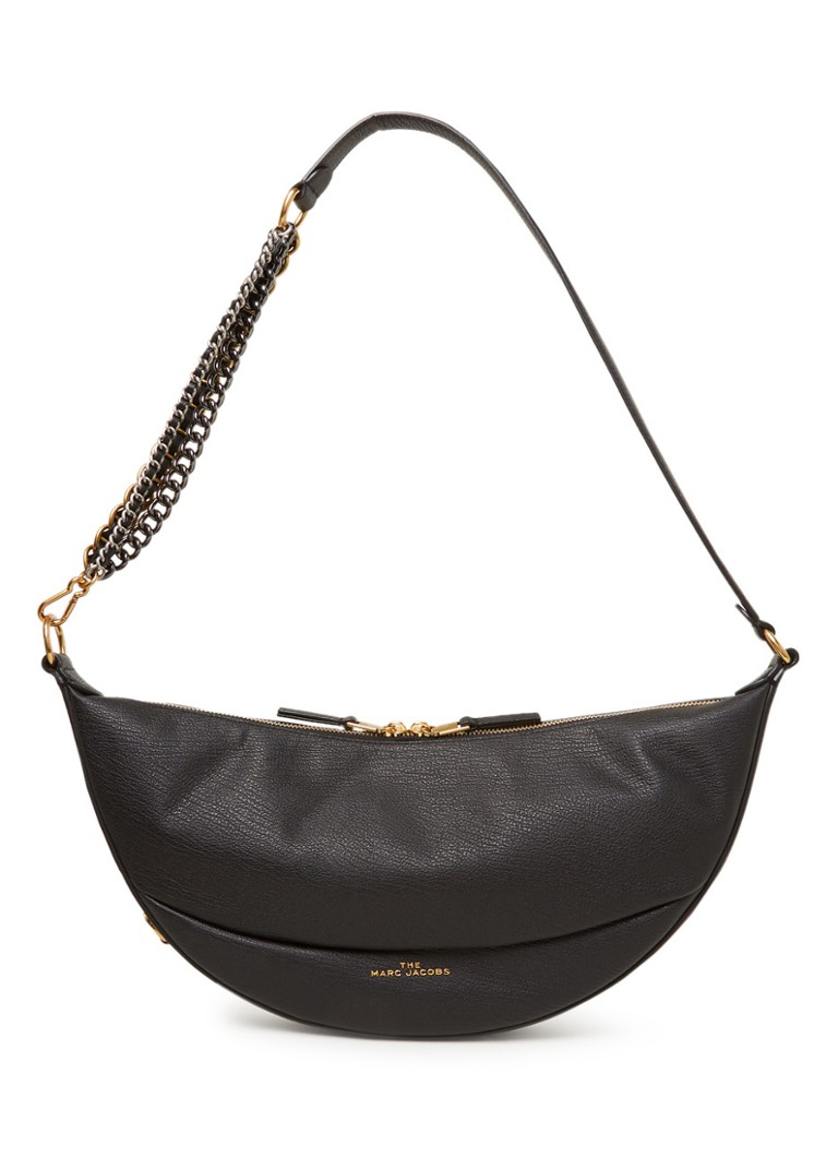The Marc Jacobs - The Eclipse crossbodytas van leer - Zwart