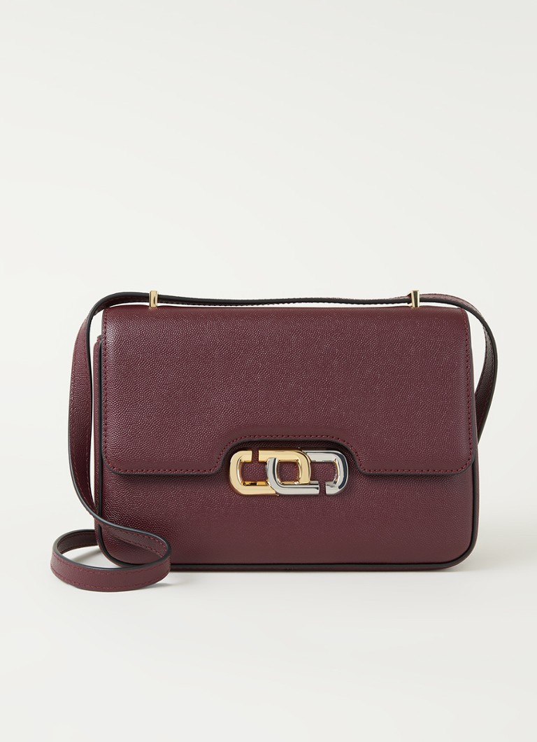The Marc Jacobs - The J Link schoudertas van leer - Bruin