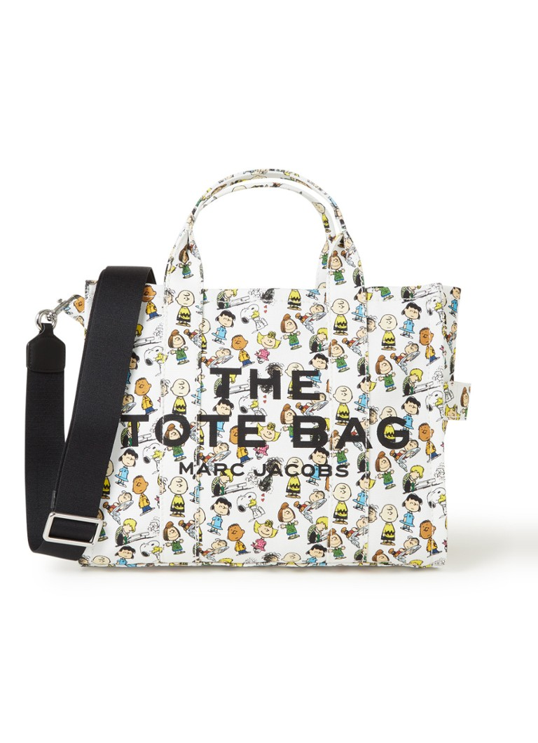The Marc Jacobs - The Small Traveler Tote handtas - Wit
