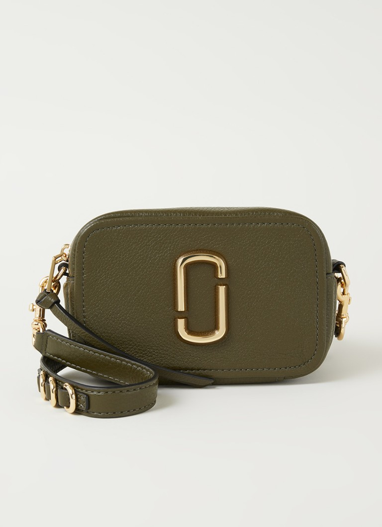The Marc Jacobs - The Softshot 17 crossbodytas van leer - Groen