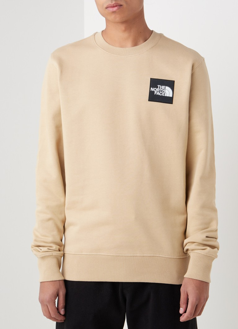 The North Face - Blackbox sweater met ronde hals en logo - Beige