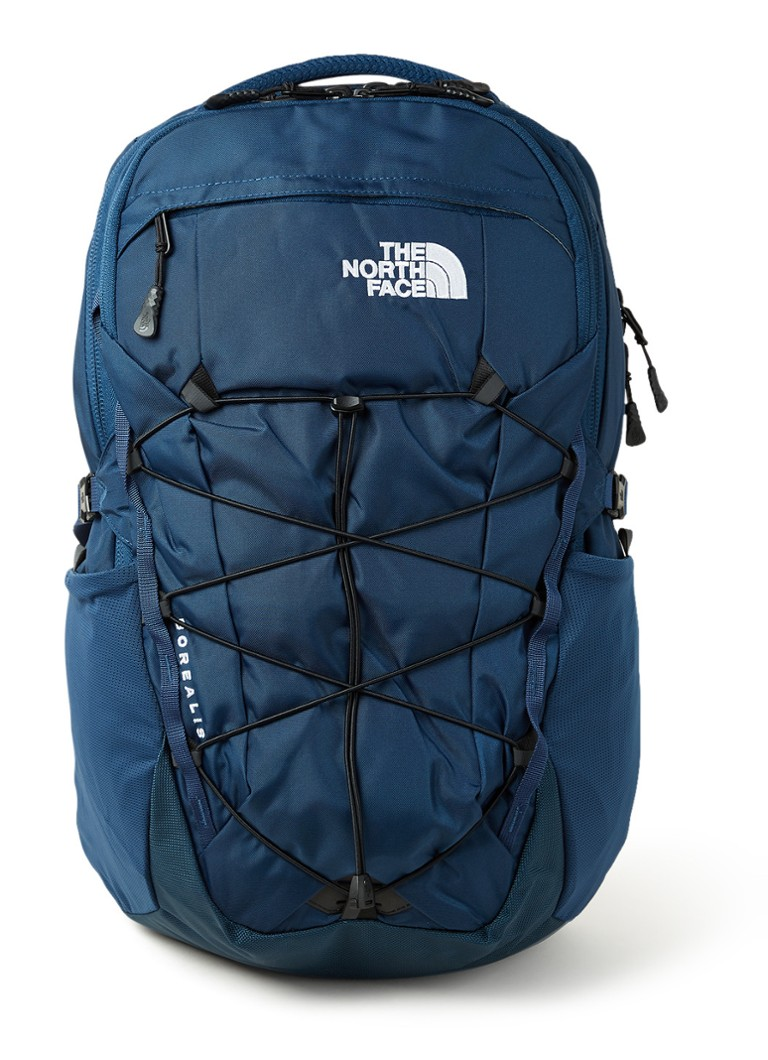 The North Face - Borealis rugzak met 15 inch laptopvak - unisex - Donkerblauw