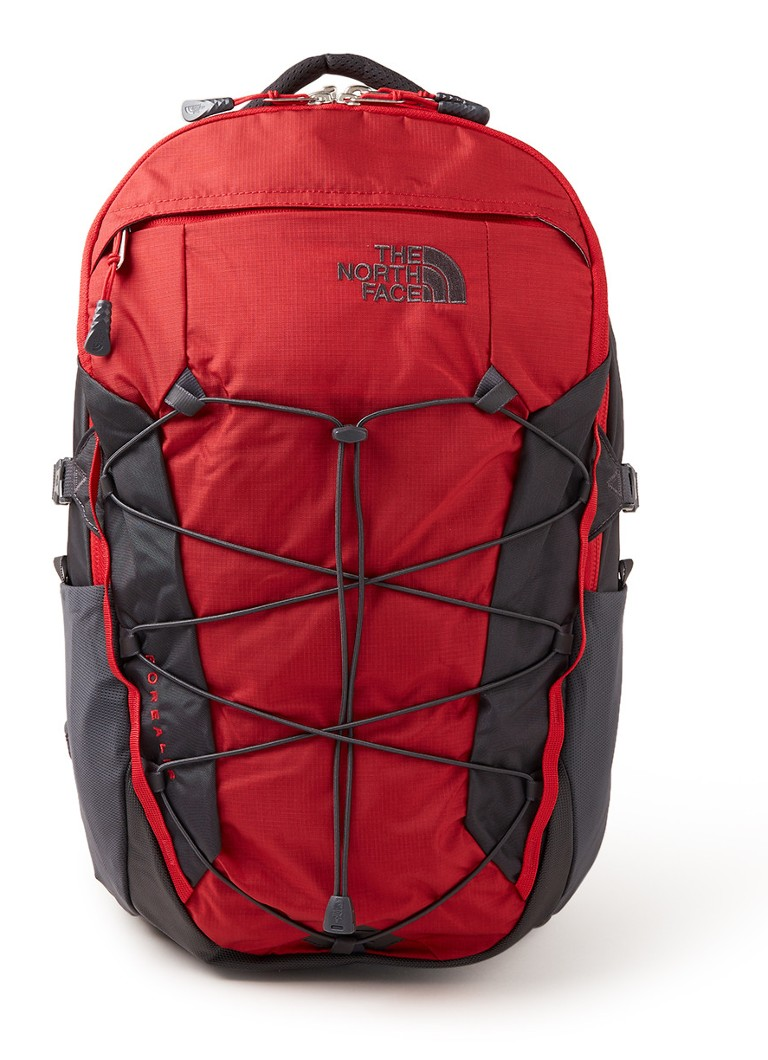The North Face - Borealis rugzak met 15 inch laptopvak - Rood
