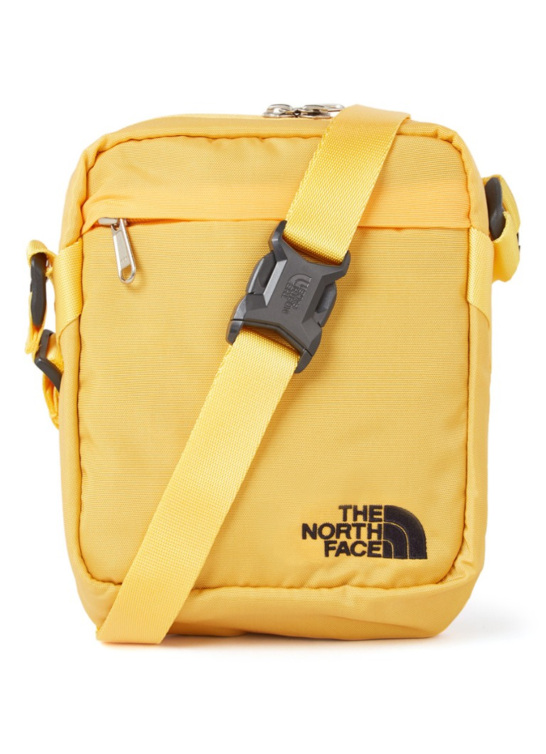 The North Face - Convertible crossbodytas met logoborduring - unisex - Geel