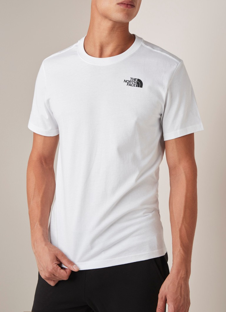 The North Face - Redbox T-shirt met logoprint  - Wit