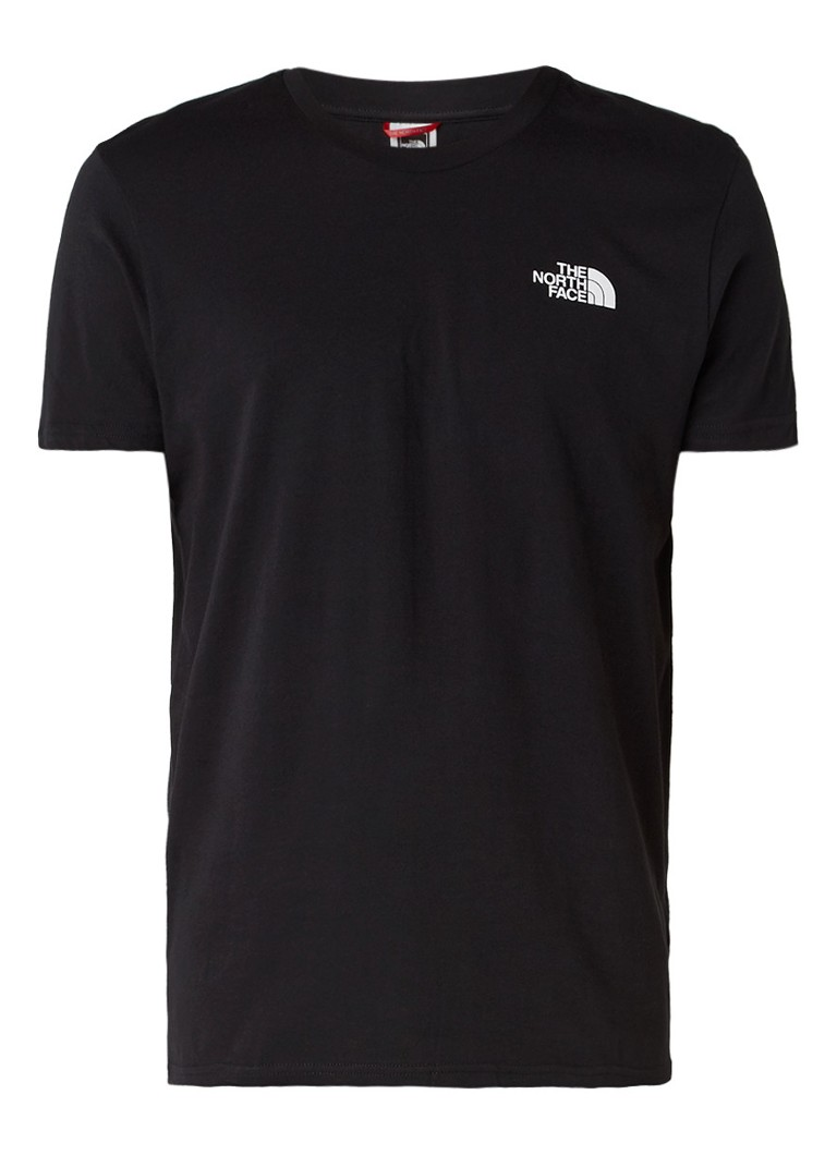 the north face simple dome t shirt van katoen de bijenkorf. Black Bedroom Furniture Sets. Home Design Ideas