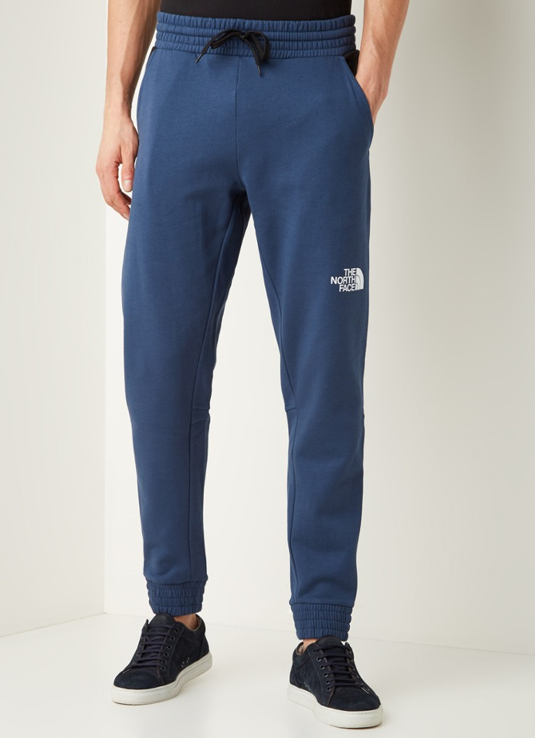 The North Face - Sweatpants met logoprint - Blauw