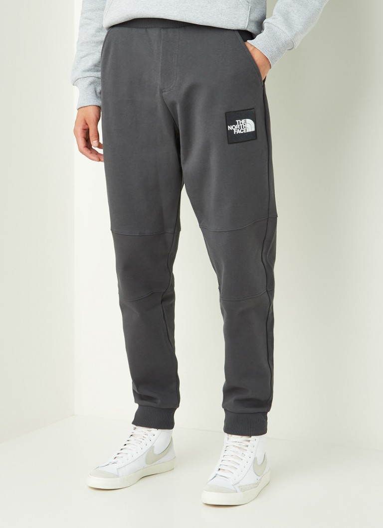 The North Face - Tapered fit joggingbroek met logo - Antraciet