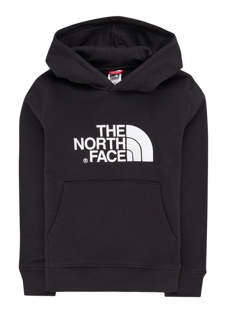 The North Face - Youth Drew hoodie met logoborduring  - Zwart
