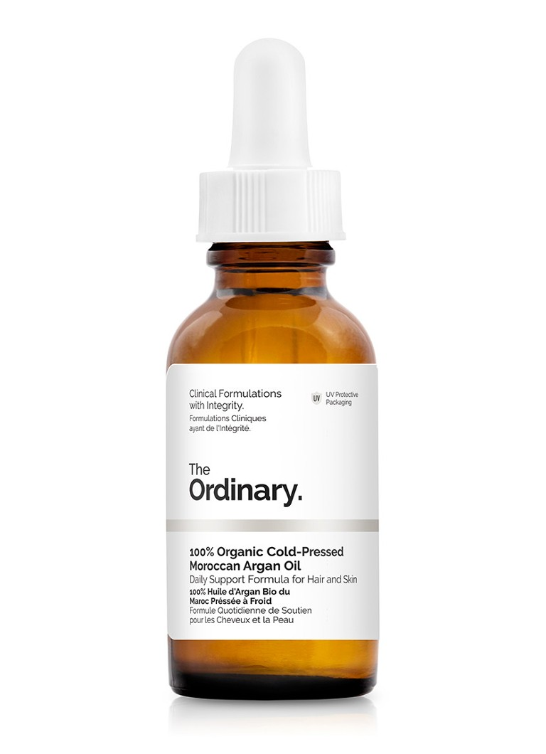 The Ordinary - 100% Organic Cold-Pressed Moroccan Argan Oil - huid- en haar olie -