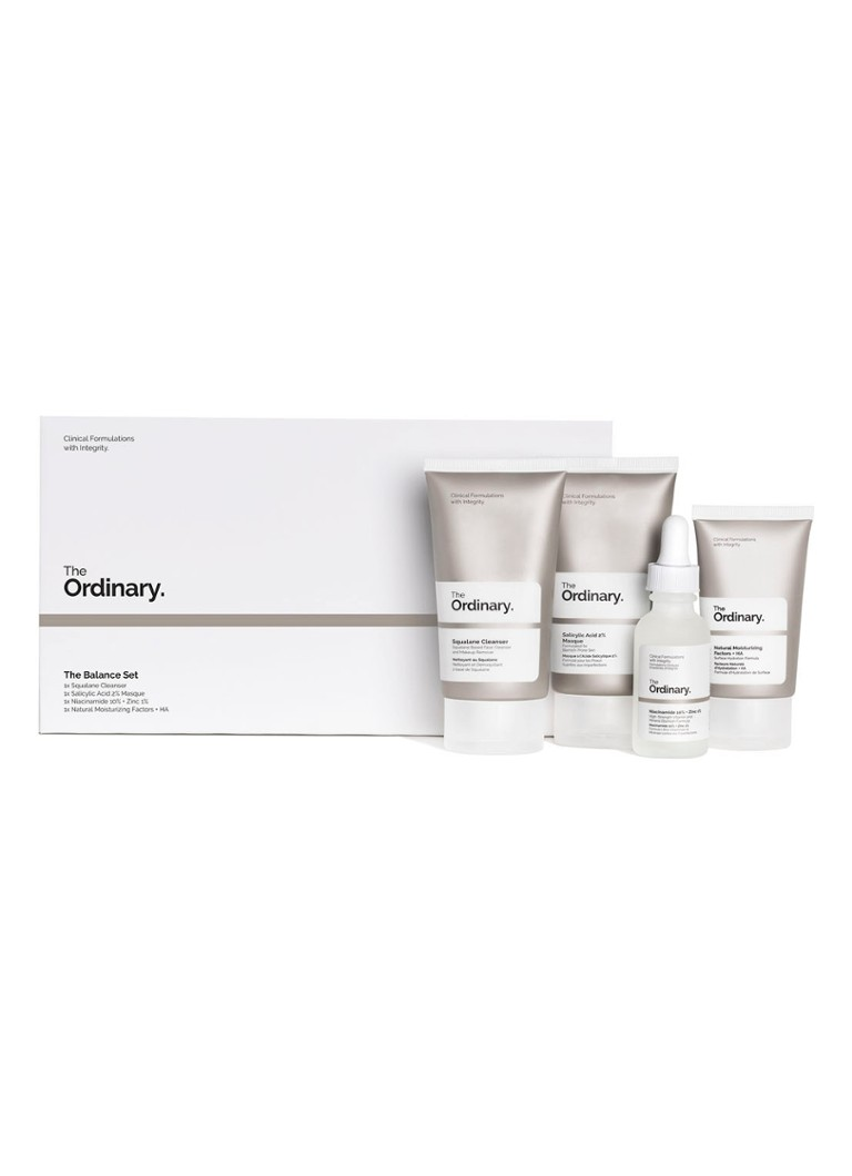 The Ordinary - The Balance Set - Limited Edition verzorgingsset - null
