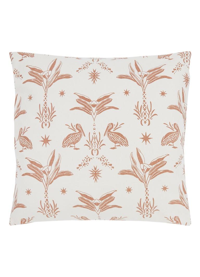The Pillow Room.The Pillow Room Animal Botanical Cork Sierkussen 50 X 50 Cm