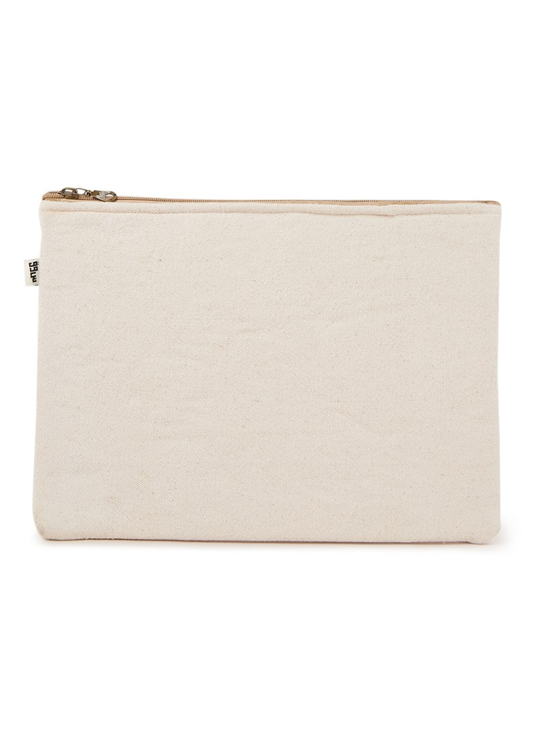 The Souks - Laptophoes van katoen 13 inch - Beige