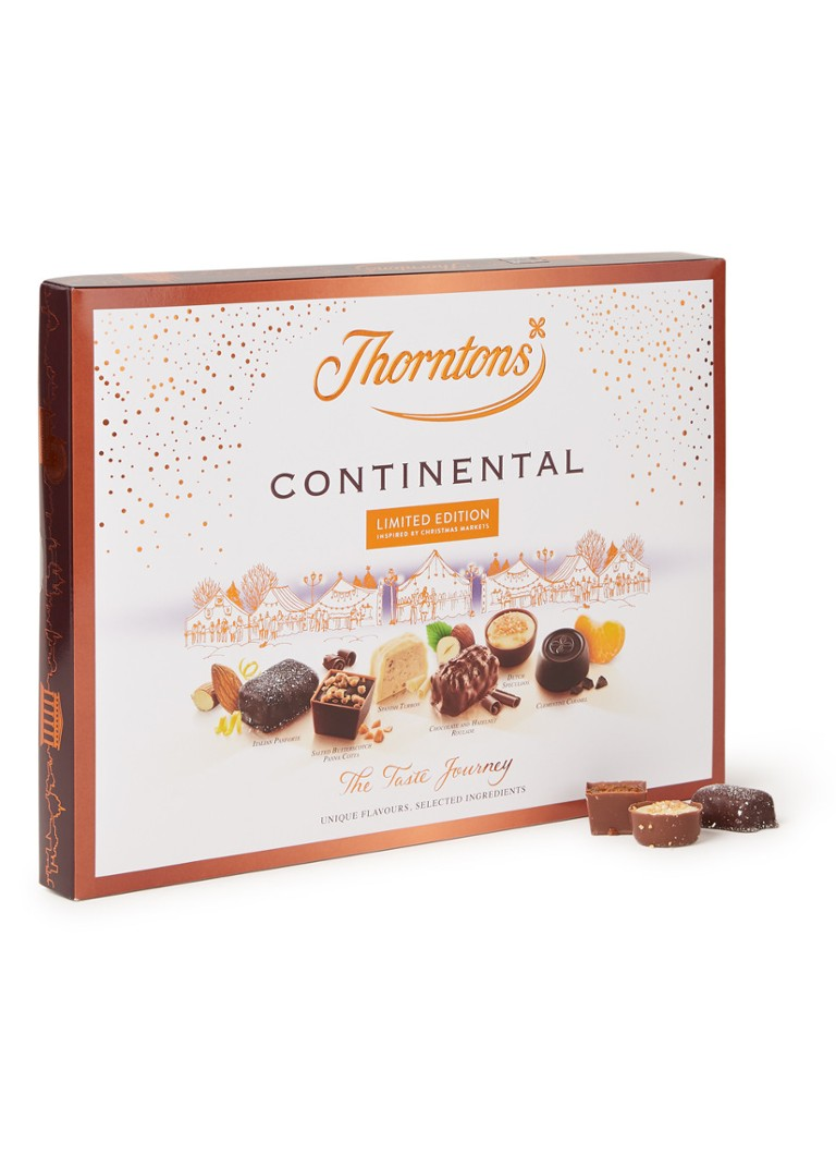 Thorntons - Continental The Taste Journal chocolade bonbons 273 gram -