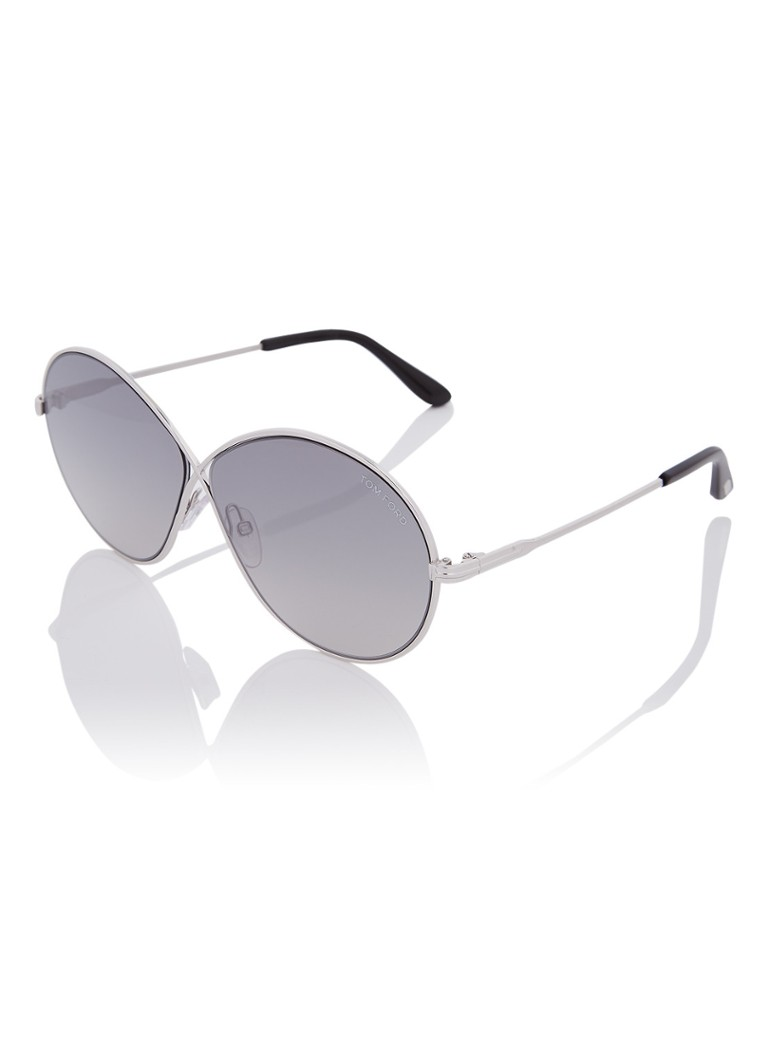 TOM FORD - Zonnebril Rania FT0564 - Zilver