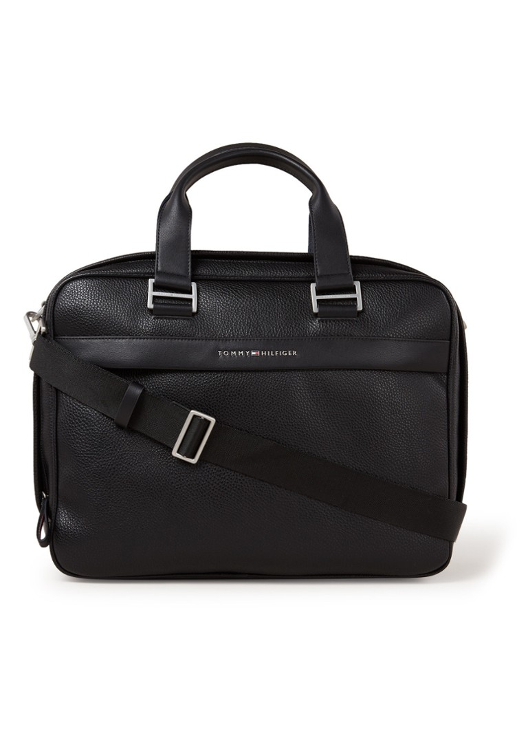 Tommy Hilfiger - Businesstas met 15 inch laptopvak  - Zwart