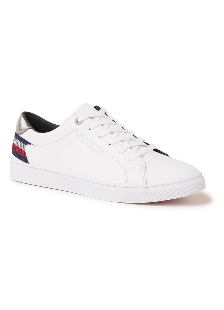 c3b7f66889172a Tommy Hilfiger Essential sneaker van leer • de Bijenkorf