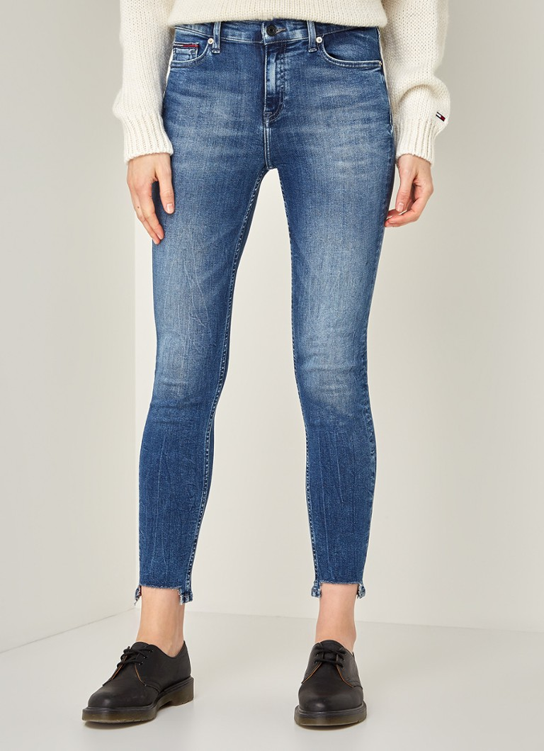 Tommy Hilfiger - Nora mid rise skinny fit jeans - Indigo