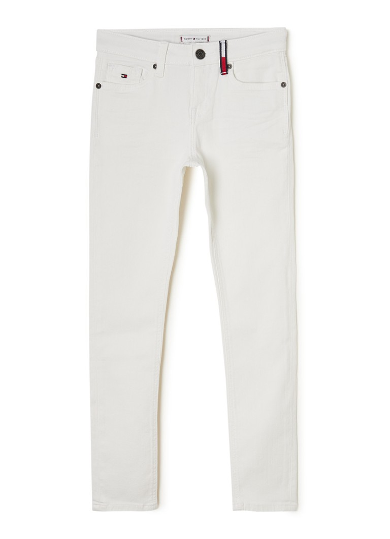 Tommy Hilfiger - Nora skinny fit jeans met stretch - Wit