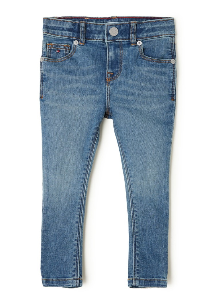 Tommy Hilfiger - Nora super skinny fit jeans met stretch - Indigo