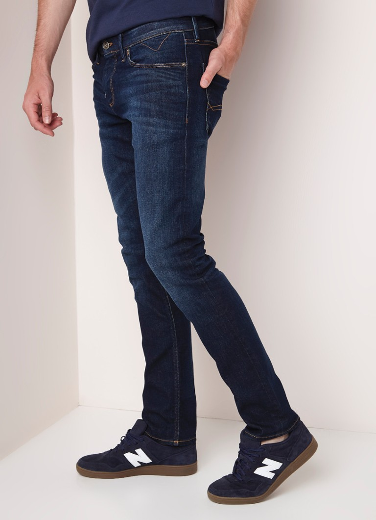 Tommy Hilfiger - Scanton low rise slim fit jeans  - Indigo
