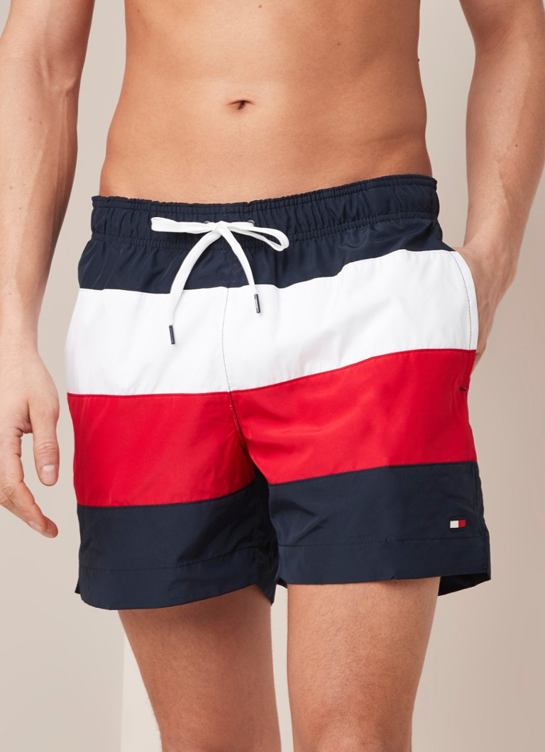 Tommy Hilfiger - Zwembroek met colourblocking - Multicolor