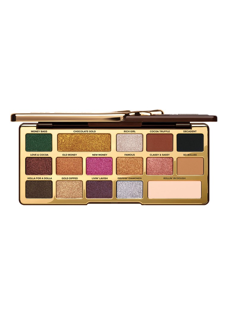 Too Faced - Chocolate Gold Eye Shadow Palette - oogschaduw -
