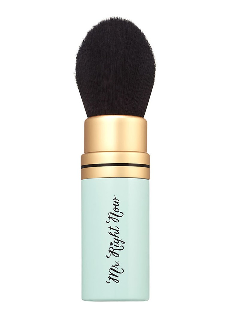 Too Faced - Mr. Right Now Perfectly Portable Powder Brush - poederkwast -