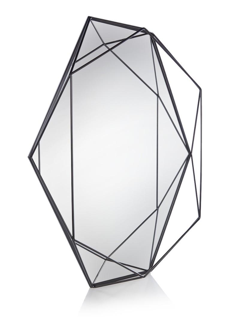 Latest umbra prisma spiegel with ronde spiegel leer for Spiegel rond leer