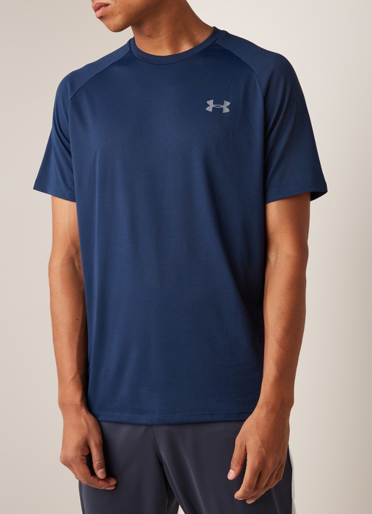 Under Armour - Tech™ 2.0 trainings T-shirt  - Donkerblauw