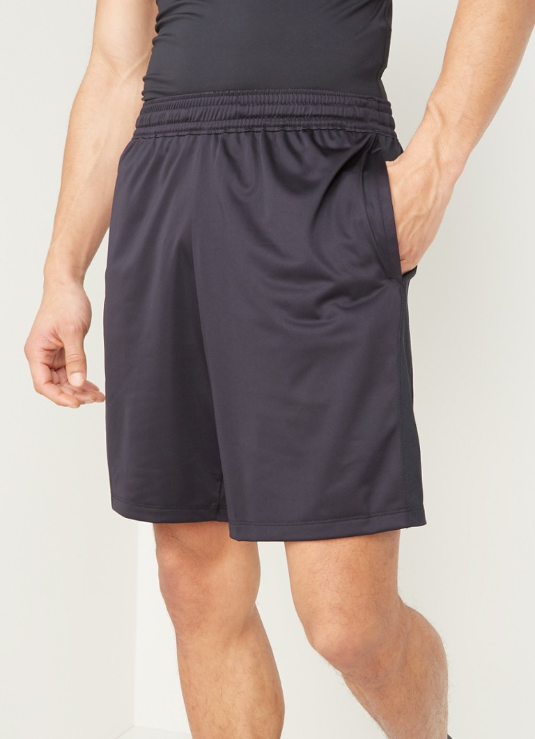 Under Armour - Trainingsshorts met HeatGear en mesh - Zwart