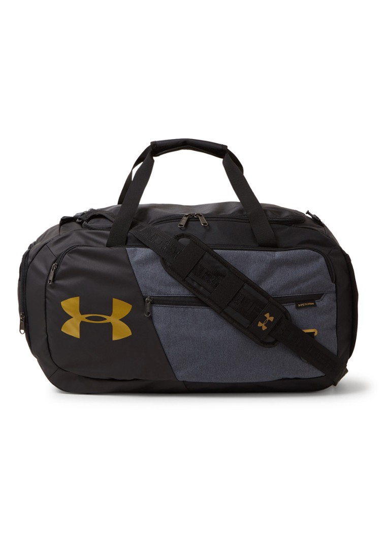 Under Armour - Undeniable 2.0 Medium sporttas met logo - Zwart