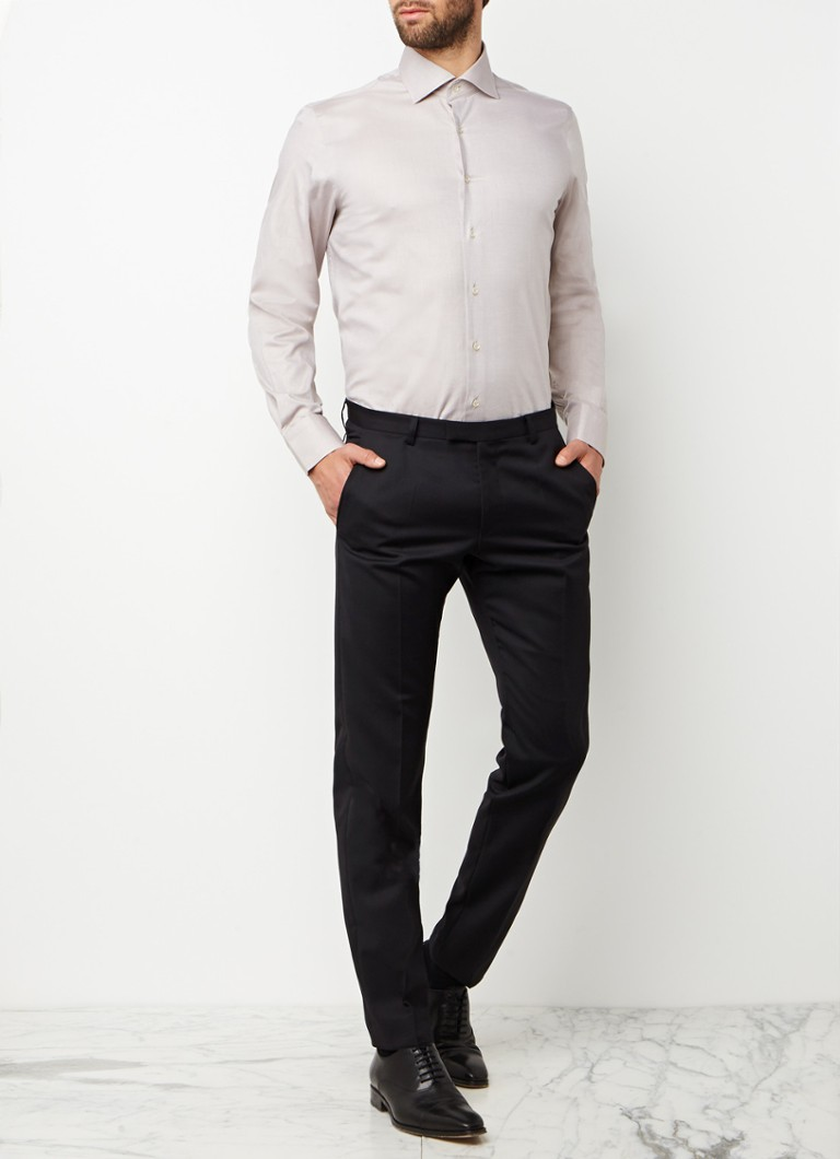 Tailored Fit Overhemd.Van Gils Ellington Tailored Fit Overhemd