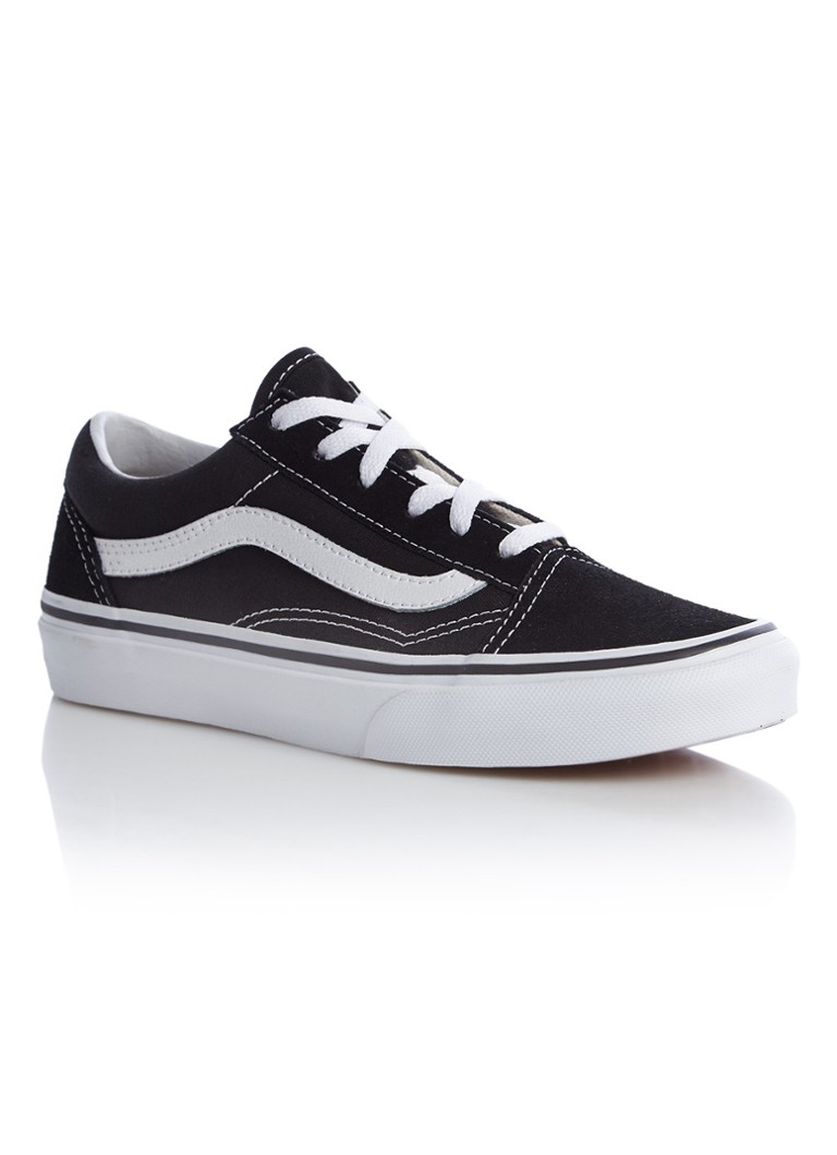 6dc21a574f3 VANS Old Skool sneaker met details van leer en suède • de Bijenkorf