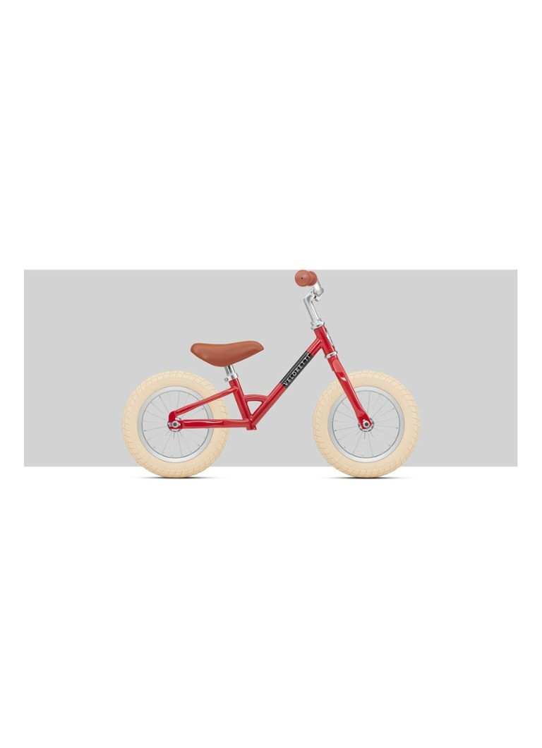 Veloretti - Mini 12″ Red loopfiets - Rood