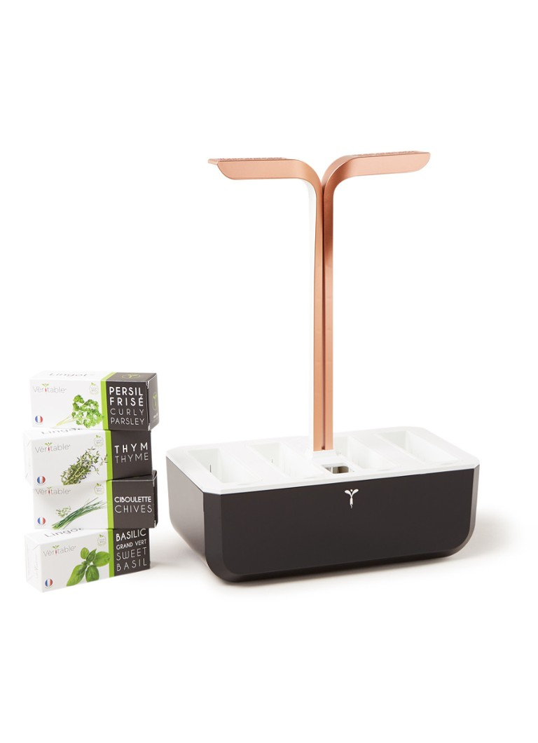 Vèritable - Garden Smart kruidenpot met LED-lamp - Koper