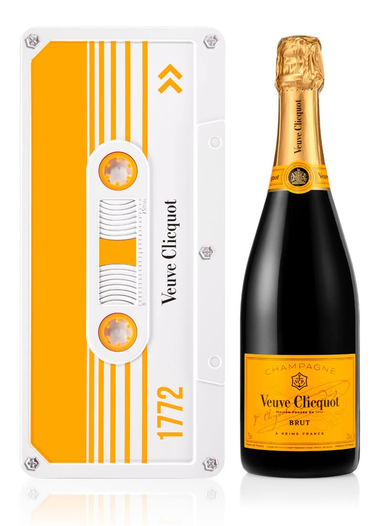 Veuve Clicquot - Champagne Retro, Chic! Brut in geschenkverpakking 750 ml  - null