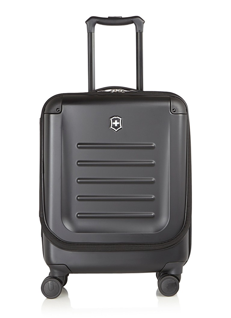 Victorinox - Spectra Dual-Acces Global Carry-on spinner 55 cm - Zwart