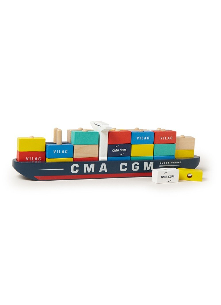 Vilac - Container schip - Multicolor