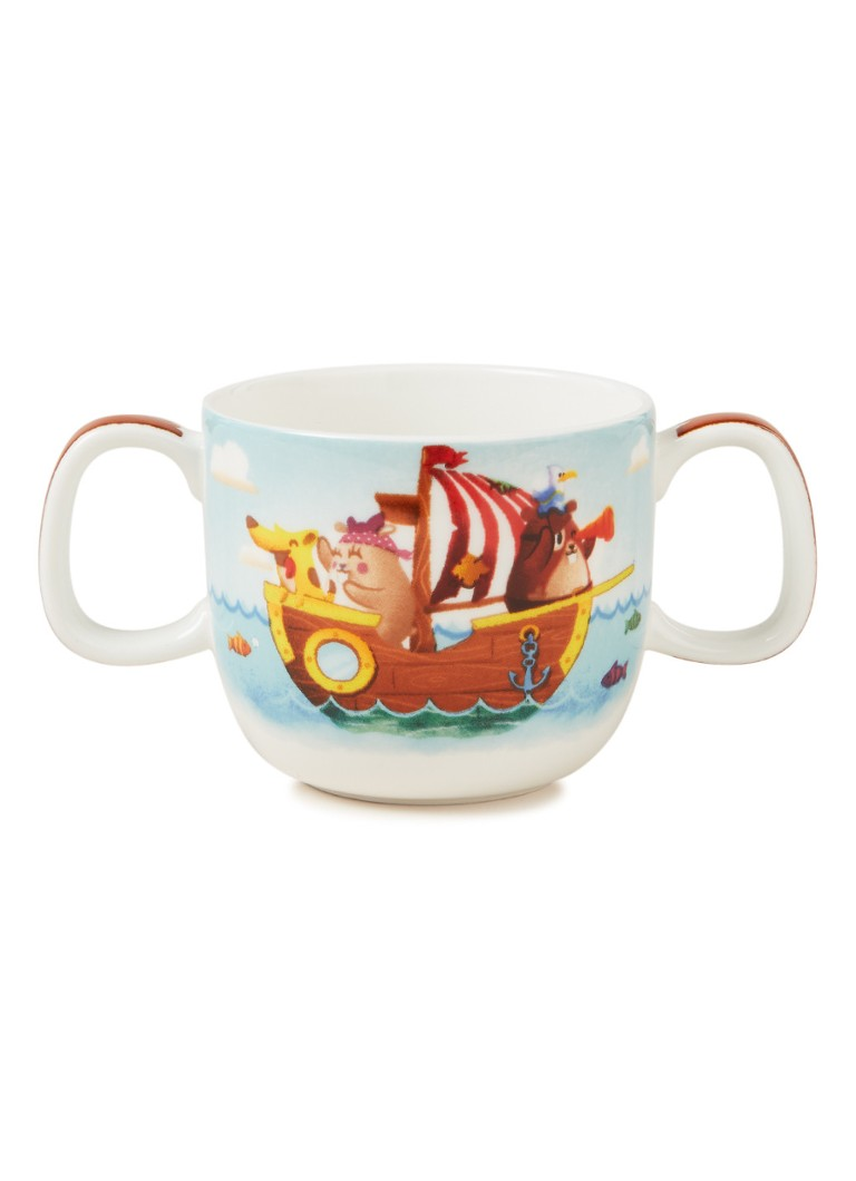 Villeroy & Boch - Chewy's Treasure Hunt kinderbeker met twee oren 18 cl - Multicolor